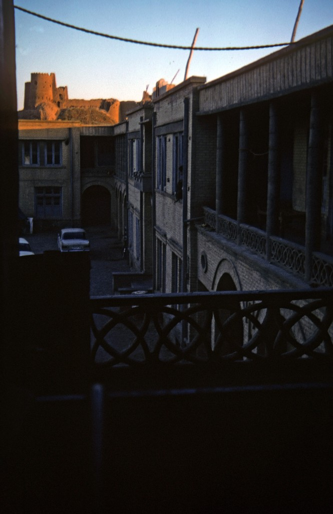 0094 Afghanistan - Kandahar hotel room view