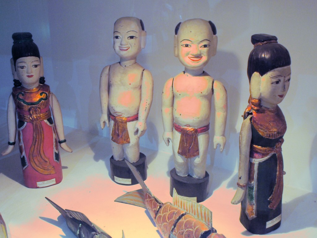 These are Vietnamese water puppets.