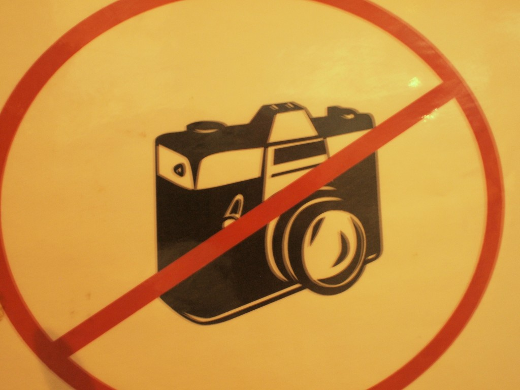 I guess I wasn't supposed to be photographing here. At least the sign did not threaten lethal force as do some of the signs on Kandahar Airfield. Nobody seemed to be bothered by my excess taking of photographs.