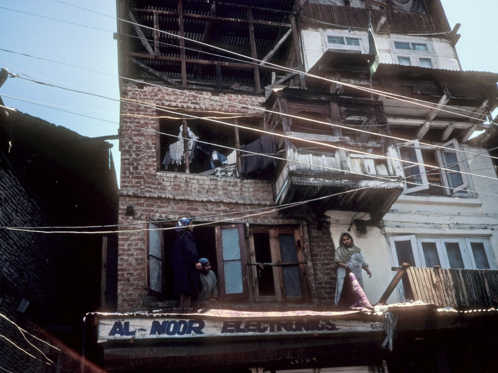 Srinagar's electronics shop. I delayed my purchases until the return to the States.